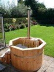 Hot Tub 1,5m Fichte